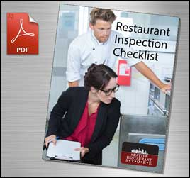 restaurant inspection checklist