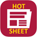 hot sheet email logo