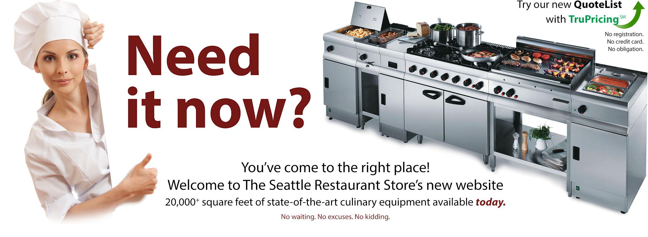 Seattle Restaurant Store