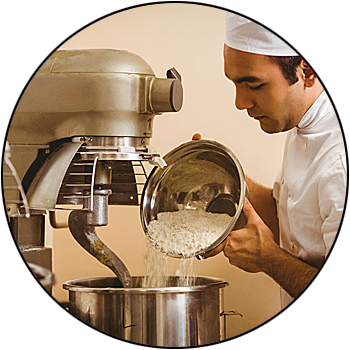 picture of commercial restaurant kitchen mixer or blender